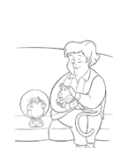 Bolt da colorare 46