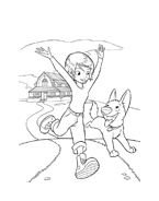 Bolt da colorare 47