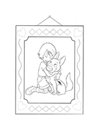 Bolt da colorare 48