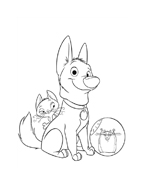 Bolt da colorare 49