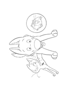 Bolt da colorare 53