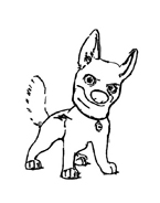 Bolt da colorare 54