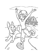Bolt da colorare 55