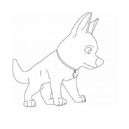 Bolt da colorare 59