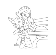 Bolt da colorare 60