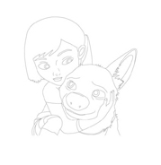 Bolt da colorare 61
