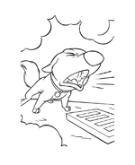 Bolt da colorare 65