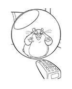 Bolt da colorare 68