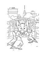 Bolt da colorare 70