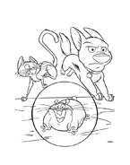 Bolt da colorare 71