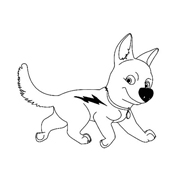Bolt da colorare 72