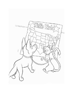 Bolt da colorare 76