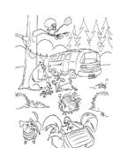 Boog elliot a caccia di amici da colorare 29