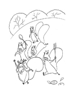 Boog elliot a caccia di amici da colorare 36