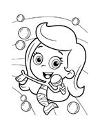 Bubble guppies da colorare 9