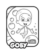 Bubble guppies da colorare 29