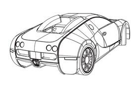 Automobile da colorare 86