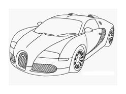 Automobile da colorare 87
