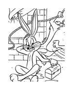 Bugs bunny da colorare 42