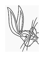 Bugs bunny da colorare 53