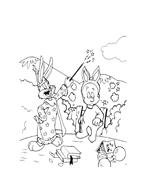 Bugs bunny da colorare 87