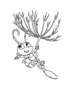 A bugs life da colorare 20