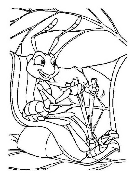 A bugs life da colorare 22