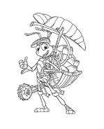 A bugs life da colorare 25