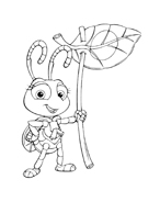 A bugs life da colorare 32