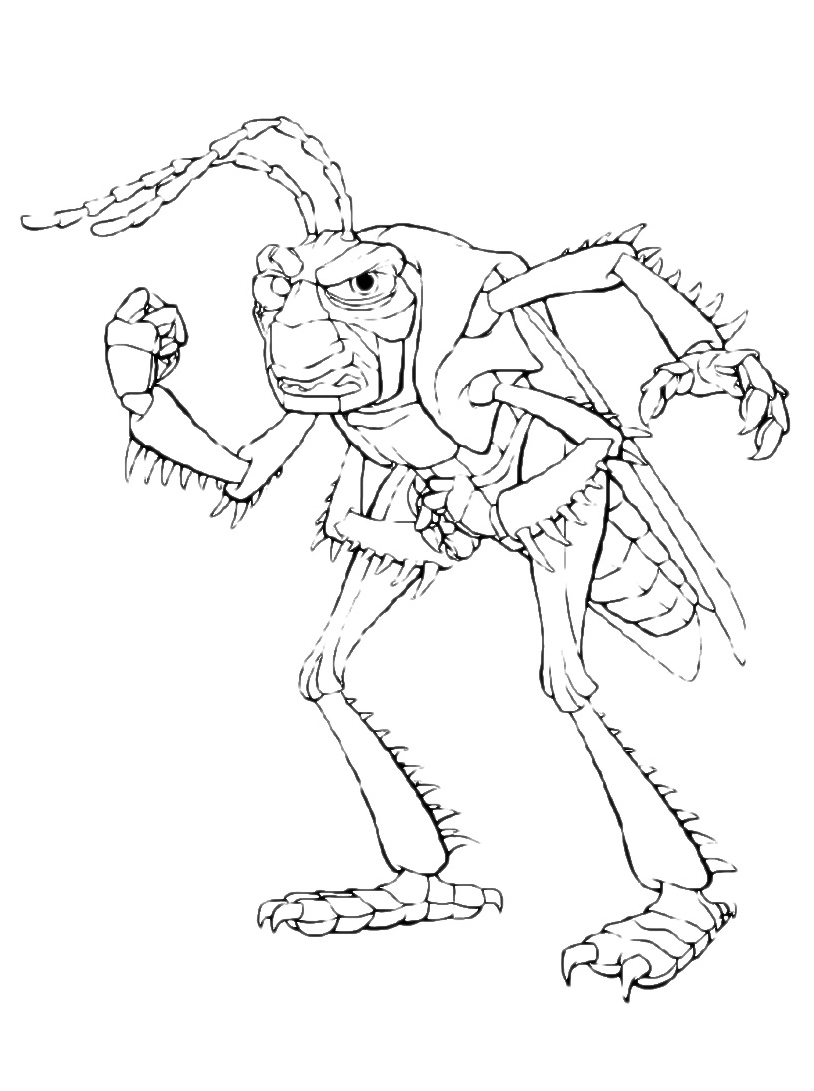 A bugs life da colorare 39