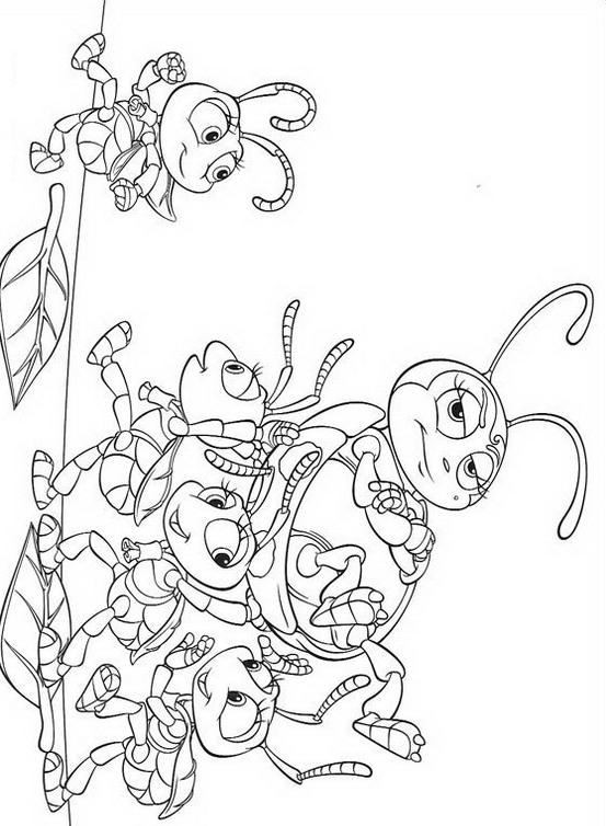 A bugs life da colorare 7