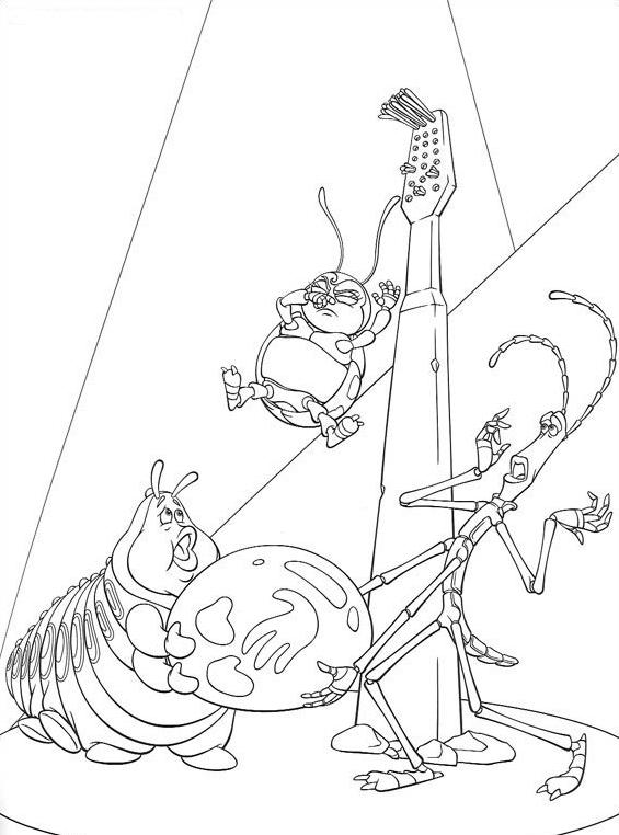 A bugs life da colorare 8