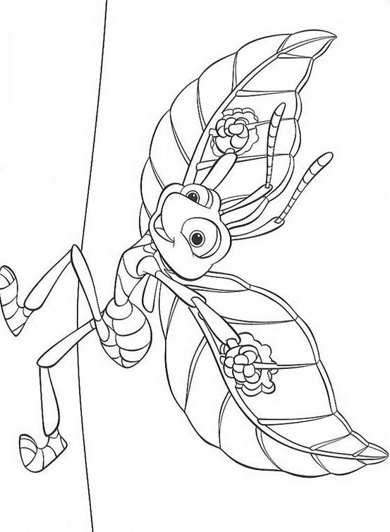 A bugs life da colorare 11