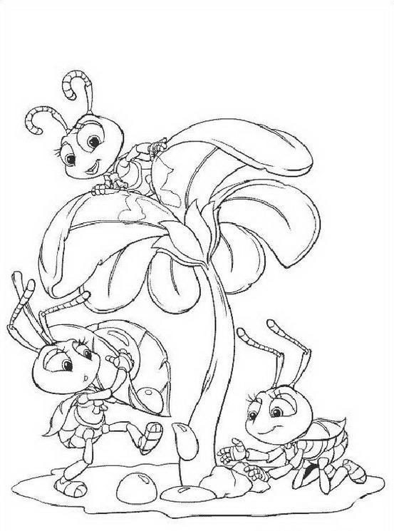 A bugs life da colorare 16