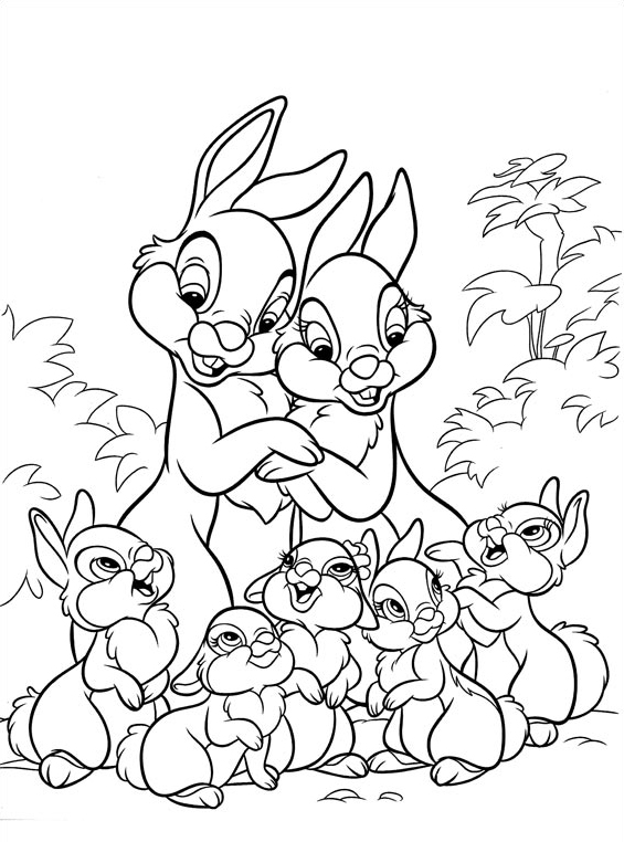 Disney cuties da colorare 22