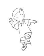 Caillou da colorare 15