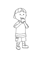 Caillou da colorare 114