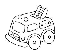 Camion da colorare 18
