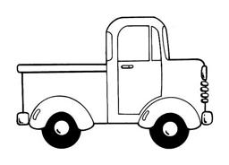 Camion da colorare 22
