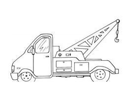 Camion da colorare 29