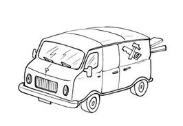 Camion da colorare 31