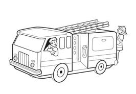 Camion da colorare 33
