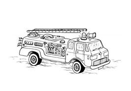 Camion da colorare 34