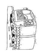 Camion da colorare 38