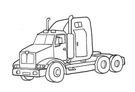 Camion da colorare 39