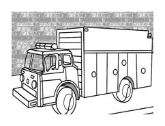 Camion da colorare 51