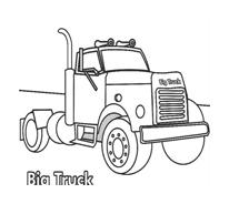 Camion da colorare 52