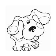 Cane da colorare 49