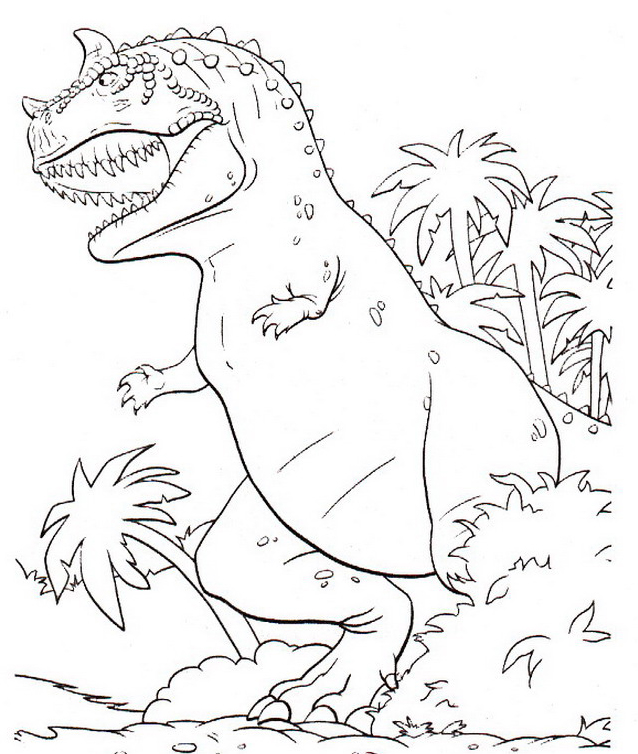 Dinosauro da colorare 20