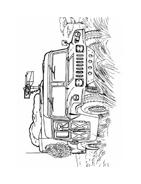 Carro armato da colorare 6